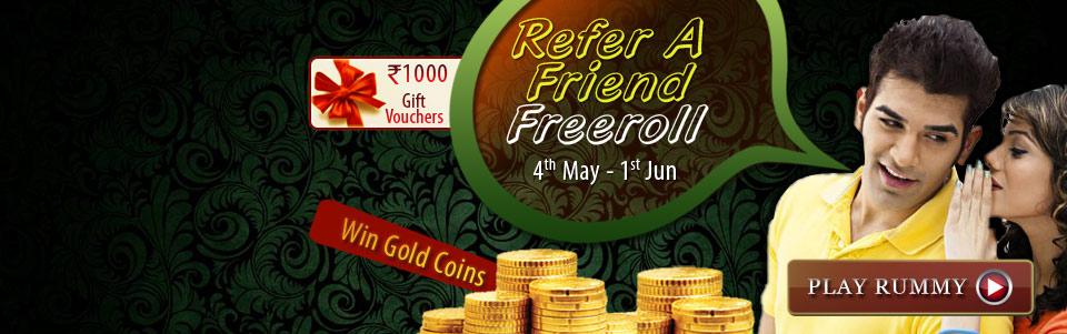 adda 52 rummy refer a friend freeroll