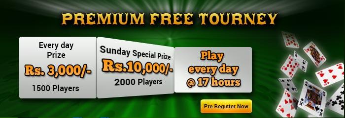 classic rummy premium free tourney