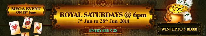 adda 52 Rummy Royal Saturdays