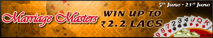 adda 52 rummy marriage masters