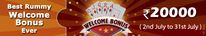 adda 52 rummy welcome bonus