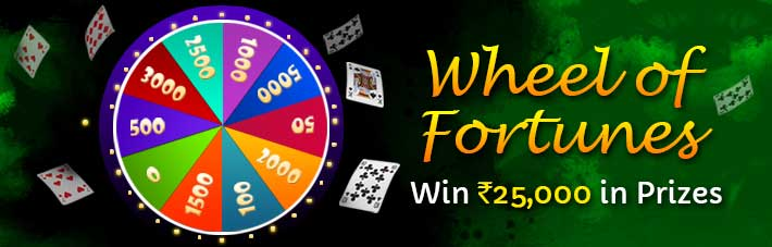 junglee rummy wheel of fortunes