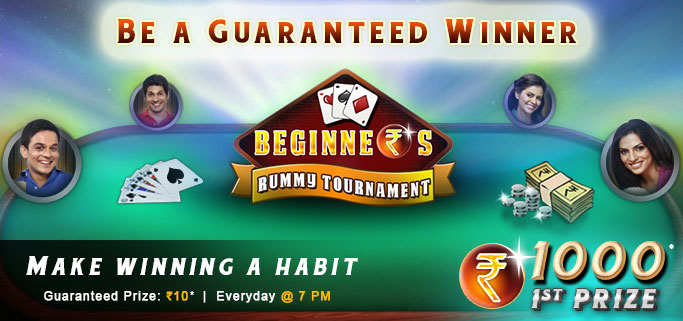 Rummy circle beginners torunament