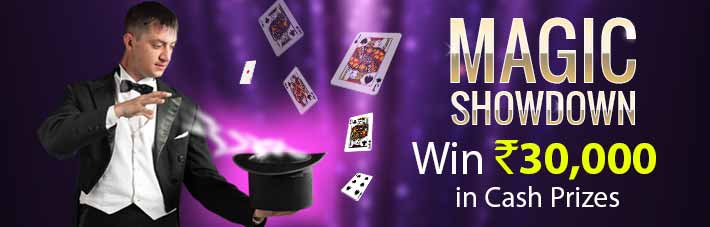 junglee rummy magic showdown