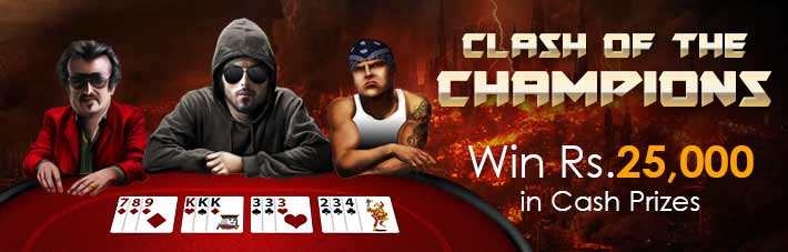 junglee rummy clash of the champions