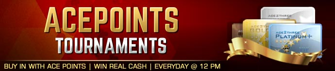 Ace2Three AcePoints Tournaments