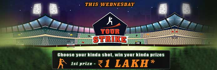 Your Strike Tournament at Rummy Circle.