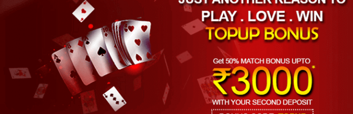 Top Up Bonus at Rummy Passion
