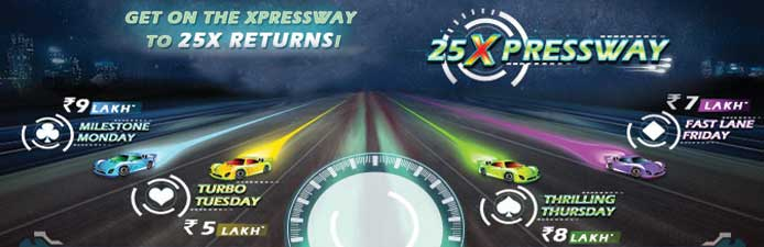 25Xpressway Rummy Tournaments by RummyCircle