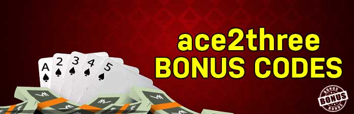 Ace2three Bonus Codes