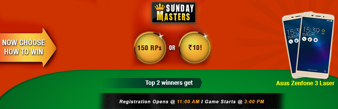 Sunday Masters Tournament