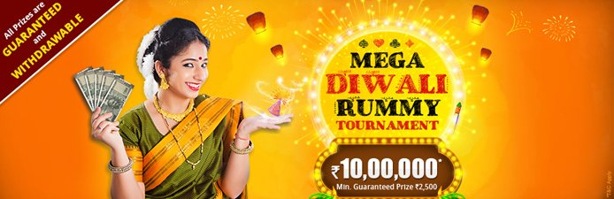 Mega Diwali Rummy Tournament at KhelPlay Rummy