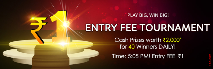 Join KhelPlay Rummy Tournament with Rs.1