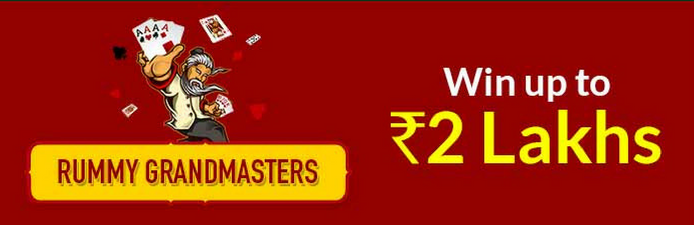 Top the Junglee Rummy GrandMasters and Win from 2 Lakhs